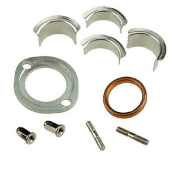 Exhaust Muffler Collet Collar Clamp Holder Sliver Fit For Honda Cg125 Xl185