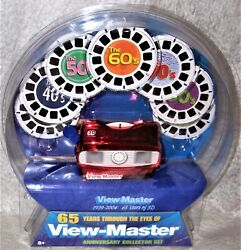 View-master 65 Years Of 3d Anniversary Collection Set 1939-2004 Excellent Nip