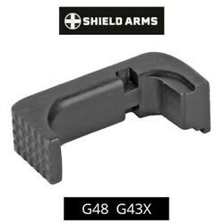 Shield Arms For Glock 43x And 48 Steel Magazine Release For Use With Steel S15 Mag