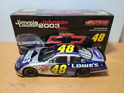 2003 Jimmie Johnson 48 Loweand039s Chevy 400th Win Cc Hms Chevy 124 Nascar Action