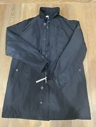 Nwt Polo Water-repellent Oxford Coat Mens Size M Navy Blue 398