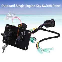 12v Single Key Vertical Control Switch Panel Accessory Fit Yamaha Outboard Yacht