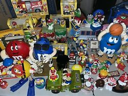 Huge Collection Of Mandmand039s World Multi Character Items Dispenser Watch Figures ++