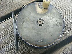 Antique Hardy Perfect Fly Salmon Reel 41/2 Inches