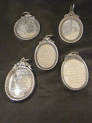 Antique Scottish Agricultural Silver Medals 19th Century