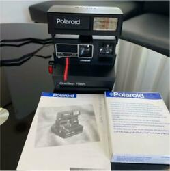 Polaroid Camera One-step Flash Film With Instructions