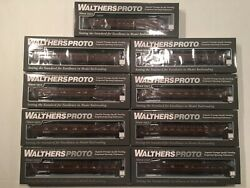 Ho Walthers Proto 1960s Pennsylvania Prr Broadway Limited Deluxe Set 1 9 Cars