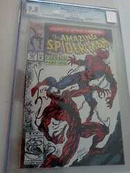 Amazing Spiderman 361 Cgc 9.8 1st Appearance Of Carnage