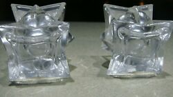 Avon Lead Crystal Candle Holders For Tapered Candles
