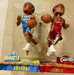 2003 Forever Lebron James Carmelo Anthony Rookie Bobblehead 2779/5004 Made Rare