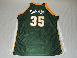 Nwt Authentic Kevin Durant Seattle Supersonics Vintage Adidas Jersey 60 4x Green