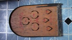 Antique Wooden Marble Maze Pinball Game The M. H. Miller Company