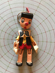 Pinocchio Wooden Marionette Key Chain - New