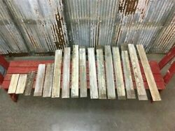 Reclaimed Wainscoting Bead Board Pieces, Architectural Salvage Vintage A11,
