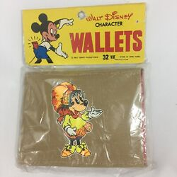 Vintage Wallet Walt Disney Productions Character Minnie Mouse Pretty Minnie NOS $24.99
