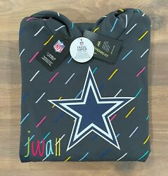 New 2021 Authentic Nike Dallas Cowboys Menand039s Nfl Crucial Catch Pullover Hoodie