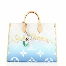 Louis Vuitton Onthego Tote Limited Edition Cities By The Pool Monogram Giant