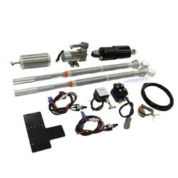 Airfx Front And Rear Air Ride Suspension Complete Kit Harley M8 Softail 18-up