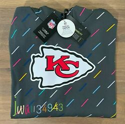 New 2021 Authentic Nike Kansas City Chiefs Menand039s Nfl Crucial Catch Hoodie