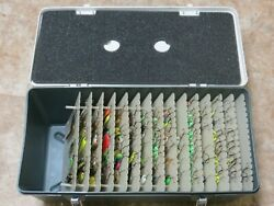 Special Mate 8 Spoon Tackle Box 8225 Filled With 128 Salmon/trout Spoons