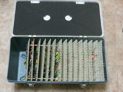Special Mate 8 Spoon Tackle Box 8225 Filled With 160 Salmon/trout Spoons