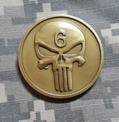 Us Navy 2004 Seal Team Six 6 Oif Iraq Oef Afghanistan Military Challenge Coin