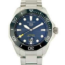 Tag Heuer Aqua Racer Professional 300 43mm Stainless Steel Blue Dial Wbp201b...