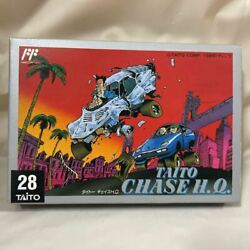 Nes Taito Chase Hq Fc Nintendo Software Racing Game