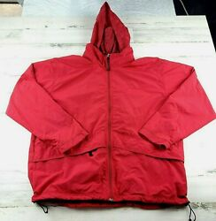 Ll Bean Red Water Resistant Menandrsquos Jacket Red Size Xl