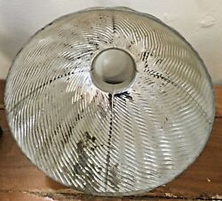Vintage Gold X-ray Mercury Glass Lamp Shade 9 1/4 Inches Width