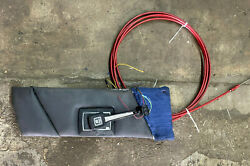 Bayliner 80s Volvo Penta Throttle Shifter With Panel And Morse 16ft Cable