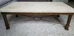 Unique Rectangular Koralith Collection Coffee Table