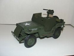 U.s. Wwii Armored Jeep Ultimate Soldier 118 21st Century Toys .