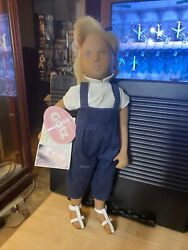 1995 Gotz Sasha Girl Doll Maria All Tags Excellent Condition