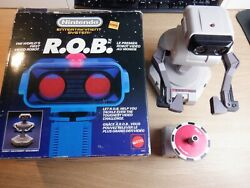 Nintendo Nes R.o.b. - Canadian Variant Stand Alone Box - Incomplete Rob Parts