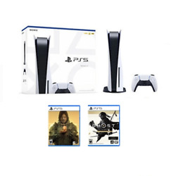 Sony Playstation 5 Ps5 Disc Edition Bundle ✅brand New In Hand Ships Fast Today