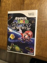 Super Mario Galaxy Nintendo Wii Sealed Brand New - Ships Fast - Overall Good