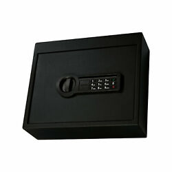Stack-on Safe With Electronic Lock And Mounting Hardware, Medium Open Box