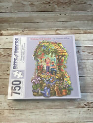 Bits And Pieces 750 Piece Puzzle Shaped Wishing Well Garden Brand New
