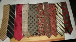 Lot Of 10 Older Ties See The List 11 No Reserve