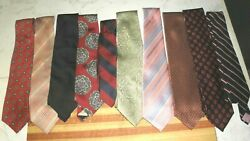 Lot Of 10 Older Ties See The List 4 No Reserve