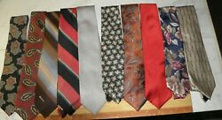 Lot Of 10 Older Ties See The List 15 No Reserve