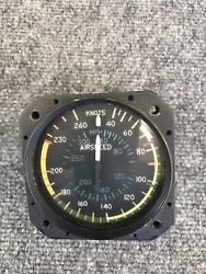 Used Cessna 40-260 Knot Airspeed Indicator Part No. C661040-0202