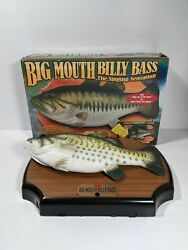 Vintage 1999 Big Mouth Billy Bass Singing Fish Take Me To The River Tested