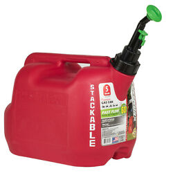 Fuelworx 47905 Stackable Gas Can Carb Compliant 5 Gallon