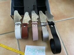 Hyper Rare Nike Air Force 1 Leather Belt X5 Ceintures Pack Collector Ds