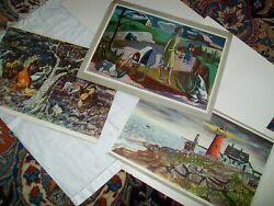 k morris Early Spring P Paradise March Wind Zsissly Summer Storm Vintage Posters