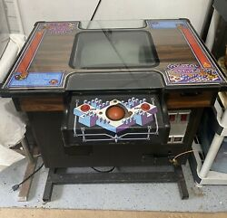 Crystal Castles Rare Cocktail Table Full Size Arcade Machine