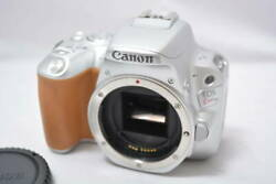 The Number Of Shutters 1383 Canon Canon Digital Slr Camera Eos Kiss X9 W [ef
