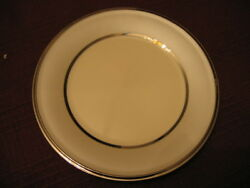 Lenox China Ivory Frost Salad Plate Nwt Gorgeous